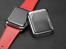 UltraThin Metallic Plated Hard Protective Case Cover for Apple iWatch 1-3 Silver