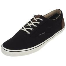 Chaussures basses toile Jack and jones Vision mixed anthracite Gris 29444 - Neuf