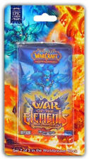 WOW TCG LOOT ? World of Warcraft - Blister Booster Pack - War of the Elements !