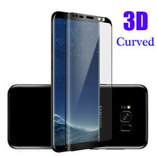 3D Curved Tempered Glass Screen Protector For Samsung Galaxy S8 S9 Plus Note 8