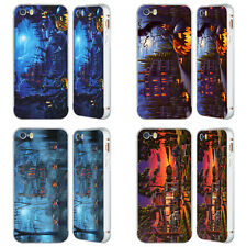 OFFICIAL GENO PEOPLES ART HALLOWEEN SILVER SLIDER CASE FOR APPLE iPHONE PHONES