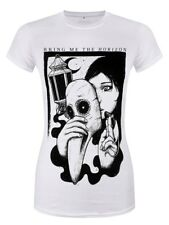 Bring Me The Horizon T-Shirt Plague Femme Blanc