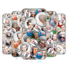 OFFICIAL ONE DIRECTION BUTTON PINS HARD BACK CASE FOR GOOGLE PHONES