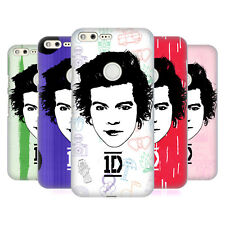 OFFICIAL ONE DIRECTION GRAPHIC FACE HARRY HARD BACK CASE FOR GOOGLE PHONES