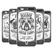HEAD CASE DESIGNS HAND-DRAWN DOG BREEDS HARD BACK CASE FOR APPLE iPOD TOUCH MP3