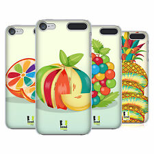 HEAD CASE DESIGNS COLOURFUL FRUITS HARD BACK CASE FOR APPLE iPOD TOUCH MP3
