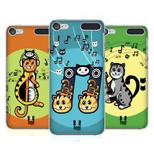 HEAD CASE DESIGNS MEOW-SICAL SYMBOLS HARD BACK CASE FOR APPLE iPOD TOUCH MP3