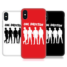 OFFICIAL ONE DIRECTION GROUP SILHOUETTE BACK CASE COVER FOR APPLE iPHONE PHONES