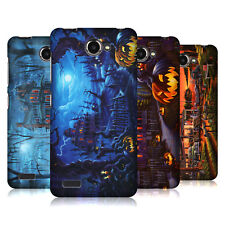 OFFICIAL GENO PEOPLES ART HALLOWEEN HARD BACK CASE FOR LENOVO PHONES