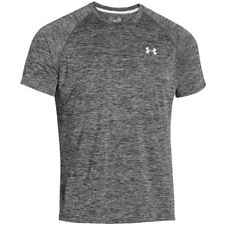 Under Armour Tech camiseta de manga corta negra WHITE SPORT 1228539-009