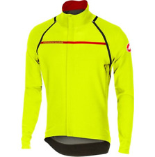 Castelli Perfetto Convertible Road Cycling Jacket Ion Yellow RRP £200