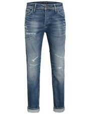JACK & JONES JEANS UOMO JJITIM JJORIGINAL JJ 062 AW24 slim fit
