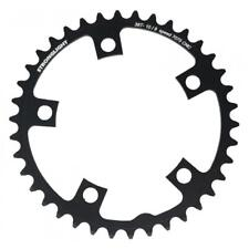 Stronglight Zicral 7075 9/10 Speed Chainring | 110mm BCD | Black | All Sizes