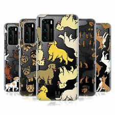 HEAD CASE DESIGNS DOG BREED PATTERNS 3 SOFT GEL CASE FOR HUAWEI PHONES