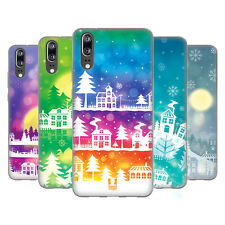HEAD CASE DESIGNS WINTER TOWNS SOFT GEL CASE FOR HUAWEI PHONES