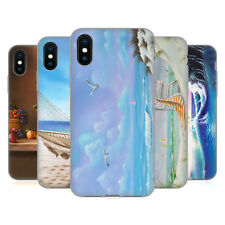 OFFICIAL GENO PEOPLES ART HOLIDAY SOFT GEL CASE FOR APPLE iPHONE PHONES