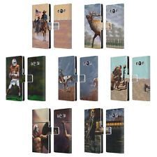 OFFICIAL GENO PEOPLES ART LIFE LEATHER BOOK WALLET CASE FOR SAMSUNG PHONES 3