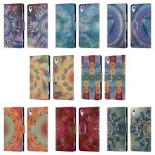 OFFICIAL BRENDA ERICKSON CHAKRAS LEATHER BOOK WALLET CASE FOR SONY PHONES 1
