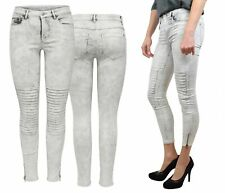 Vaqueros De Mujer Leggings onlroyal Reg SK Tobillo RACE PIM 403 Moto Denim