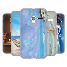 OFFICIAL GENO PEOPLES ART HOLIDAY SOFT GEL CASE FOR ALCATEL PHONES