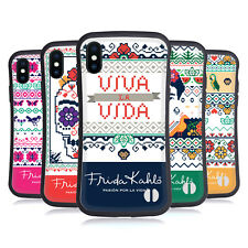 OFFICIAL FRIDA KAHLO COYOACAN PATTERNS HYBRID CASE FOR APPLE iPHONES PHONES