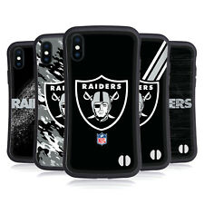 OFFICIAL NFL OAKLAND RAIDERS LOGO HYBRID CASE FOR APPLE iPHONES PHONES