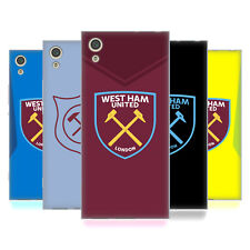 OFFICIAL WEST HAM UNITED FC 2017/18 CREST KIT SOFT GEL CASE FOR SONY PHONES 1