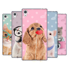 OFFICIAL STUDIO PETS PATTERNS SOFT GEL CASE FOR SONY PHONES 2