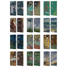 OFFICIAL MASTERS COLLECTION PAINTINGS 2 LEATHER BOOK CASE FOR HTC PHONES 1
