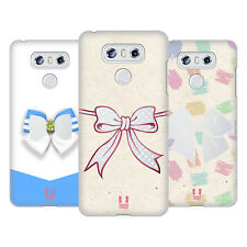 HEAD CASE DESIGNS NASTRI VETRO COVER RETRO RIGIDA PER LG TELEFONI 1