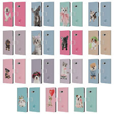OFFICIAL STUDIO PETS CLASSIC LEATHER BOOK WALLET CASE COVER FOR HTC PHONES 1