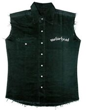 Motorhead 'ENGLAND' Sleeveless Work Shirt - NUOVO E ORIGINALE