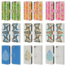 CAT COQUILLETTE WATERCOLOUR 2 LEATHER BOOK WALLET CASE FOR APPLE iPOD TOUCH MP3