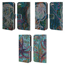 OFFICIAL ERIKA POCHYBOVA SEA LEATHER BOOK WALLET CASE FOR APPLE iPOD TOUCH MP3