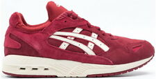 Mens asics GT-Cool Xpress Burgundy Suede Trainers Sneakers SIZE UK 9 Euro 44