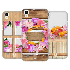 HEAD CASE DESIGNS WOOD AND FLORAL HARD BACK CASE FOR LG PHONES 2