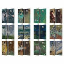 OFFICIAL MASTERS COLLECTION PAINTINGS 2 LEATHER BOOK CASE FOR MOTOROLA PHONES
