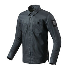 REV'IT! TRACER MOTO Camiseta Sobrecamisa AZUL OSCURO Rev it Revit Todos Los