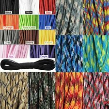 2017 550 Paracord Parachute Cord Lanyard Mil Spec Type III 7 Strand Core100FT HY