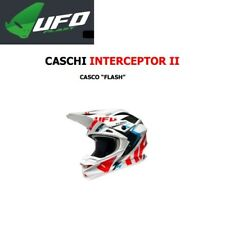 Casco helm helmet casque UFO Motocross moto cross INTERCEPTOR 2 FLASH HE032