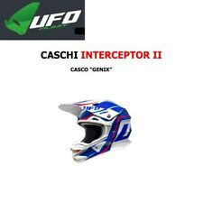 Casco helm helmet casque UFO Motocross moto cross INTERCEPTOR 2 GENIX HE034