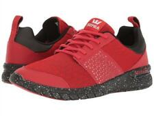 SUPRA chaussures SCISSOR RED/BLACK SPECKLE daim skate surf PE17