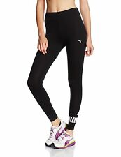 PUMA donna Ess N 1 stretto pantaloni leggings 838422 Nero