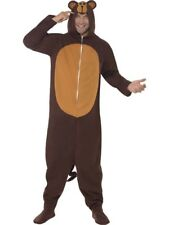 Adult Zoo Animal Funny Monkey Ladies / Mens Fancy Dress Costume Party Outfit