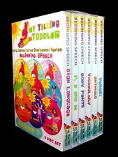 My Talking Toddler Early Communication Development System (DVD 9 Disc Set)