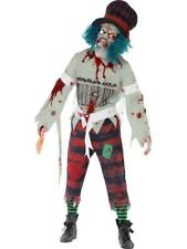 Mens Halloween Zombie Mad Hatter Fancy Dress costume / Outfit