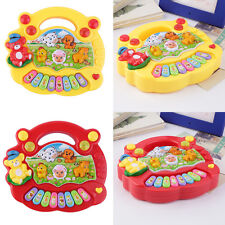 Baby Kids Musical Educational Animal Farm Piano Developmental Music Toy Gift LR