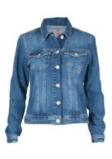 CROSS Donna Giacca in jeans 81113 blu usato