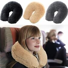 Teddy Bear Neck Pillow Cushion Support Car Plane Travel Soft U Shaped Head Rest