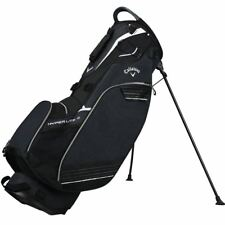 Callaway Golf 2018 Mens Hyper Lite 3 Double Strap Stand Bag 3-Way Divider